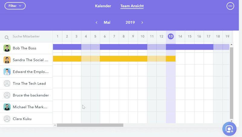 factorial kalender abwesenheiten