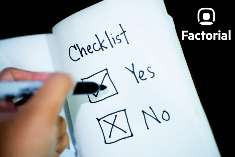 checklist onboarding