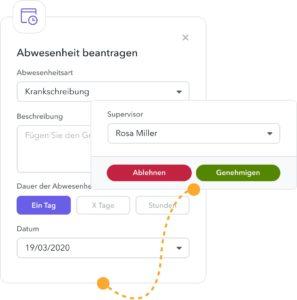 urlaubsmanagement software
