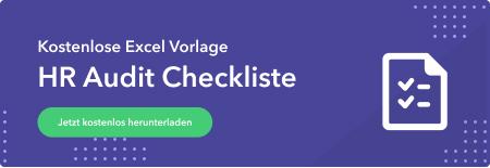 HR Audit Checkliste