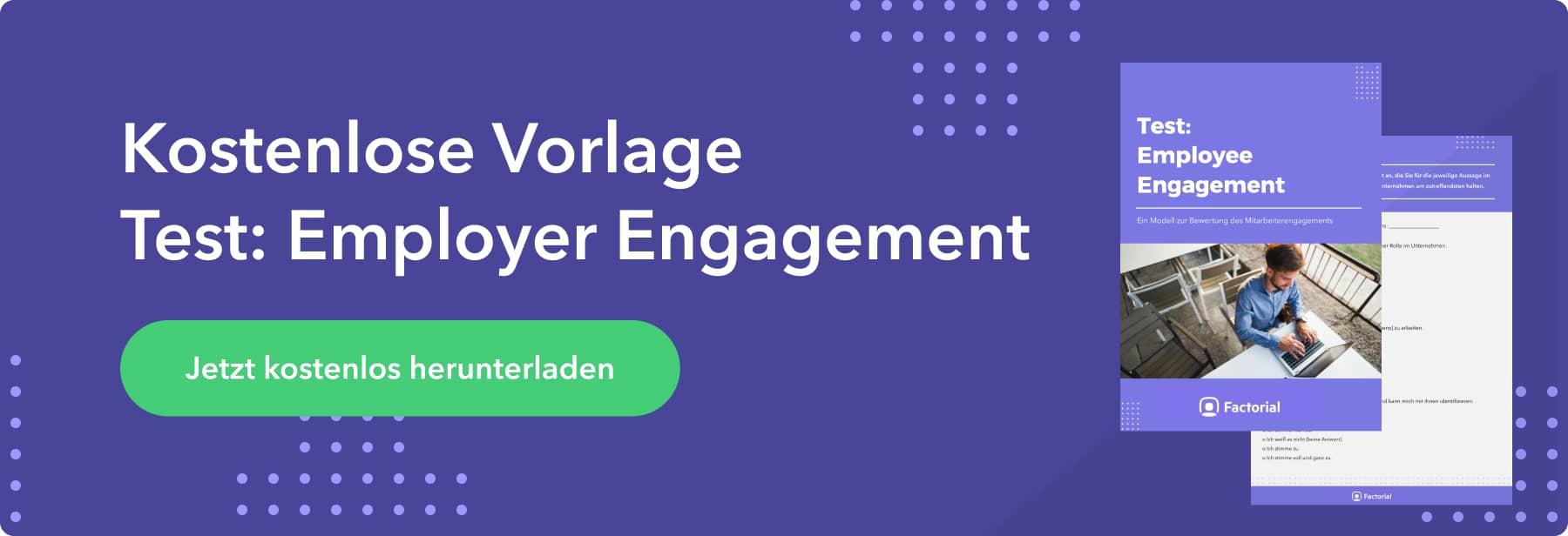 Employee Engagement Vorlage